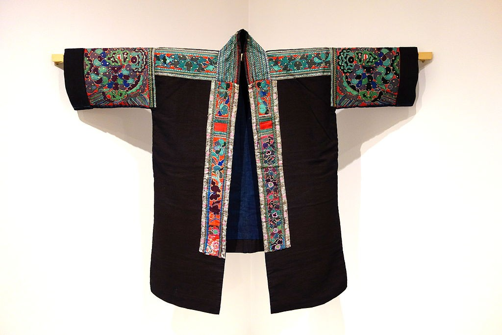 Woman's festive jacket, Miao people, Leishan county, Guizhou province|©Daderot/Wikimedia Commons