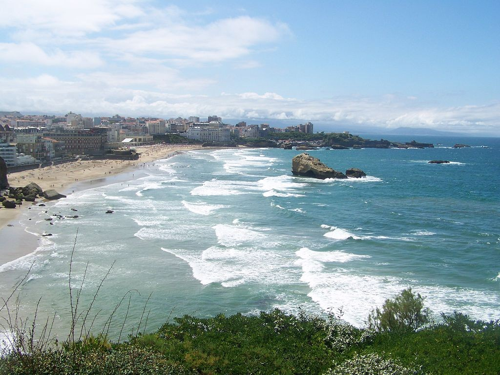 Biarritz Beach | ©Florian Pépellin / Wikimedia Commons
