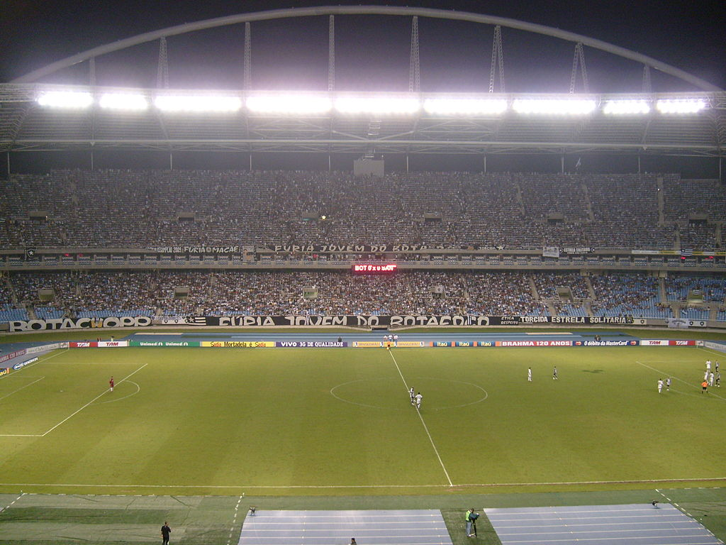 A Brief History of the Estádio Ol­mpico Nilton Santos
