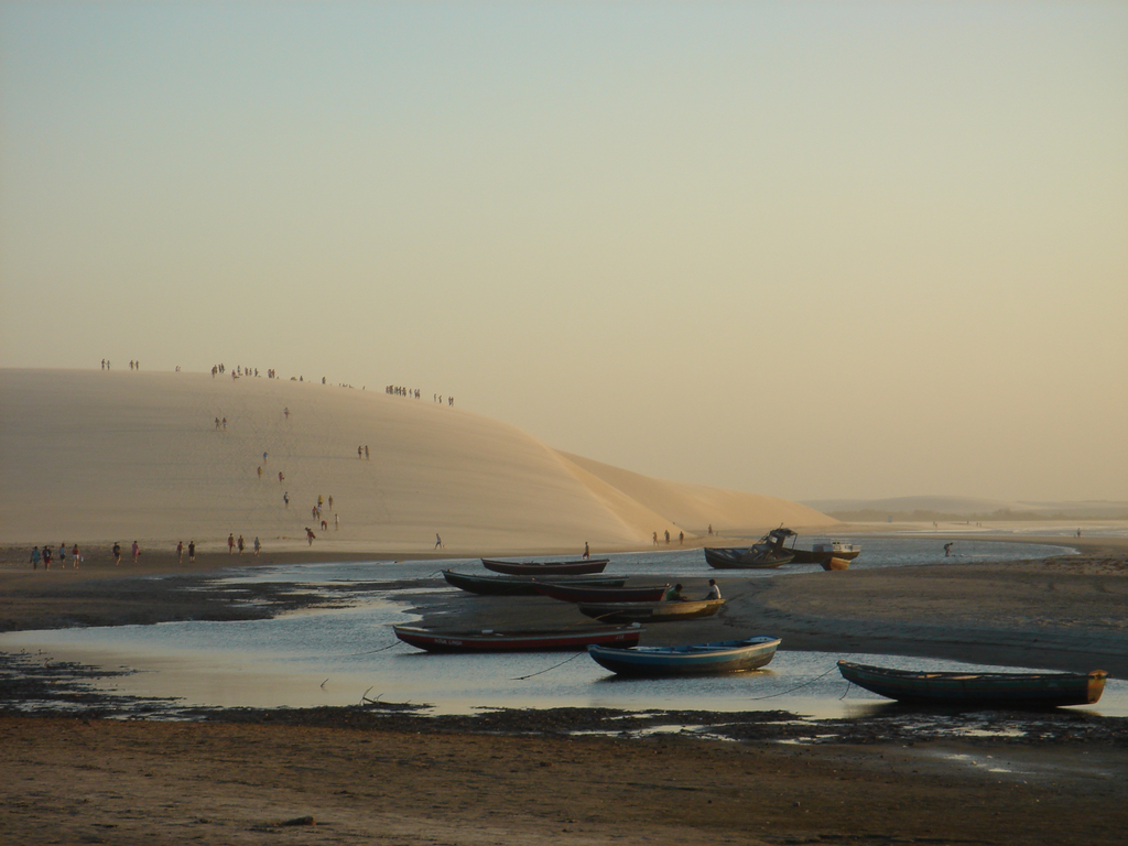 Sunset views from the dunes / ©Roberto G / Wikimedia Commons