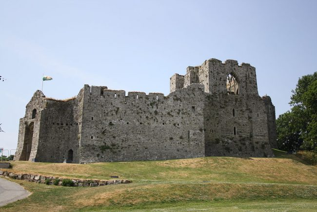 Oystermouth Castle. WikiCommons