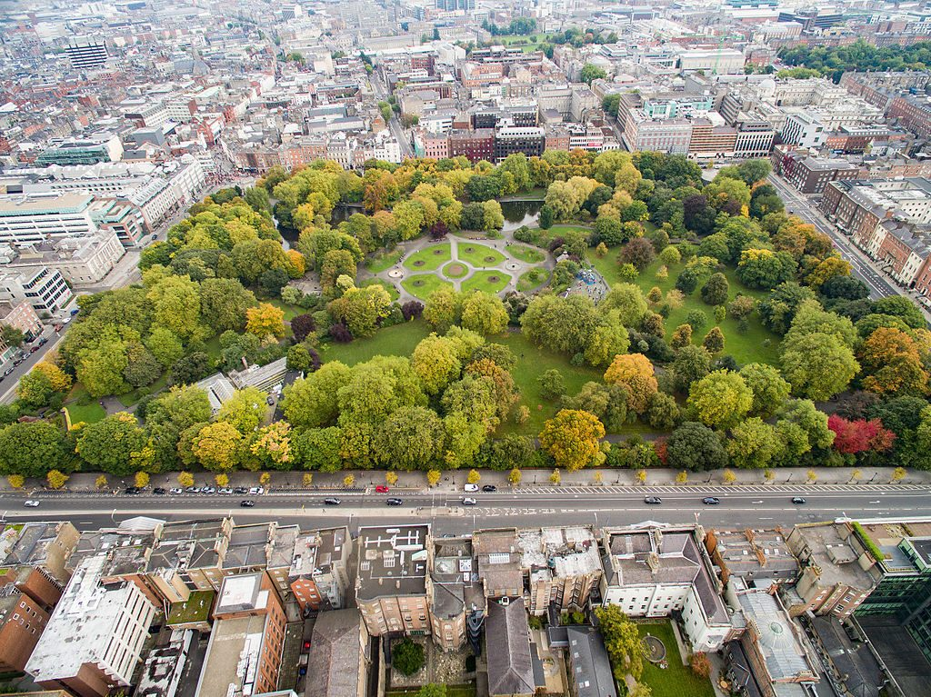 St. Stephen's Green | © dronepicr/WikiCommons