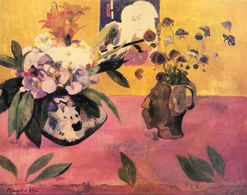 'Nature morte à l'estampe japonaise' by Paul Gauguin is a part of TMoCA's collection | Wikimedia Commons