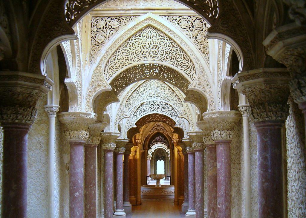 Inside Monserrate Palace © Koshelyev / Wikimedia Commons