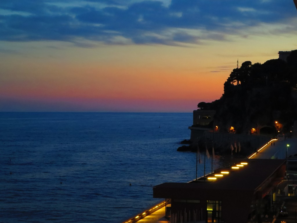 Monaco Sunset | © Kim / Flickr