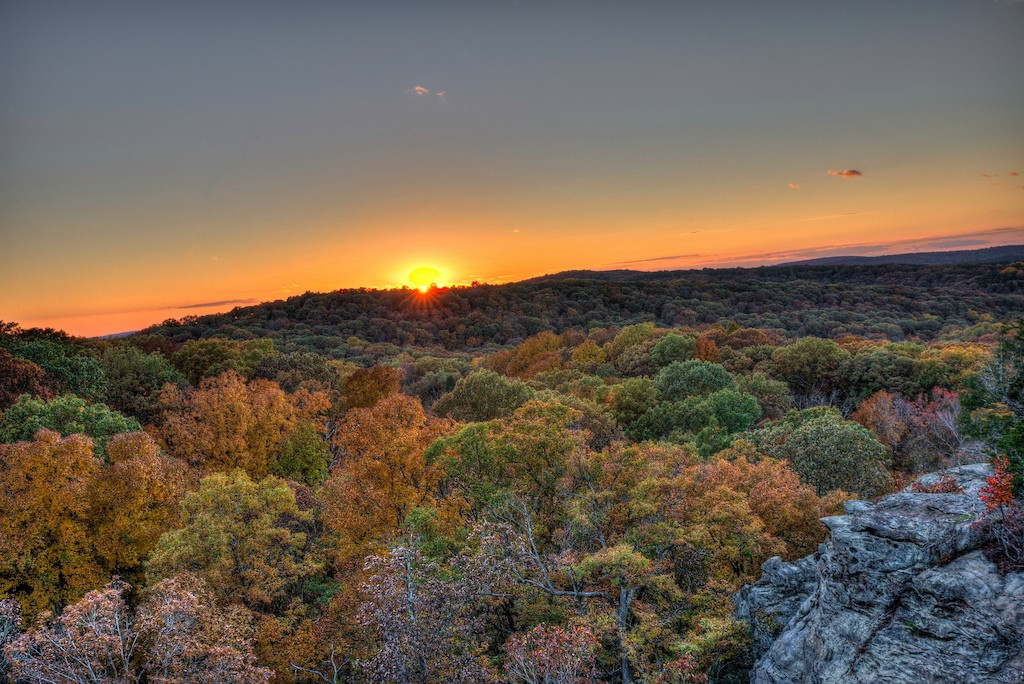 Garden of the Gods, Shawnee National Forest | © Michael/Flickr