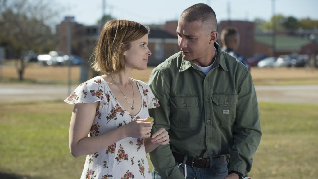 Kate Mara and Shia LaBeouf in 'Man Down' | © Lionsgate Premiere