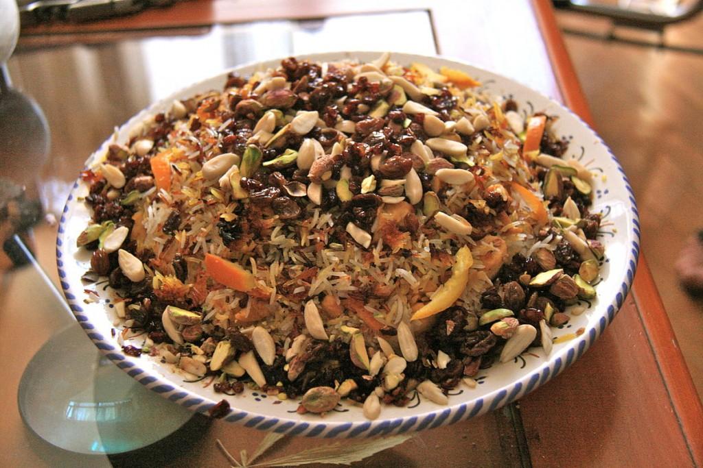 Morasa polo is named for the jewel-like toppings   © Tamorlan / Wikimedia Commons