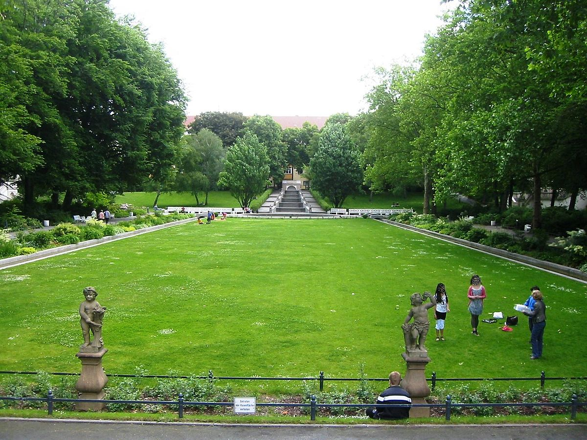 The stately Körnerpark | © Wikicommons