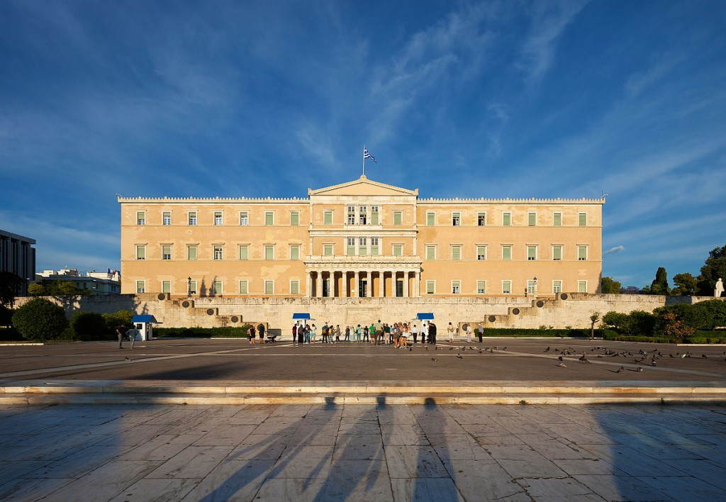 Hellenic Parliament in Athens, Greece | © Thomas Wolf/WikiCommons