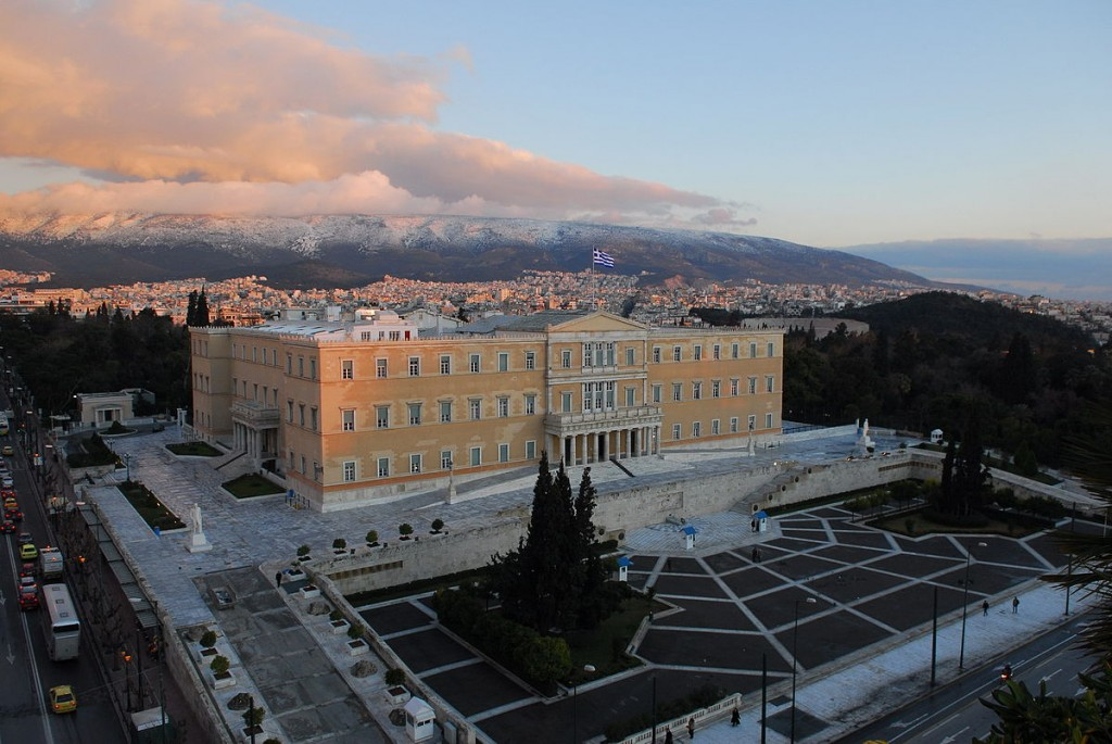The Hellenic Parliament building in Athens | ©Gerard McGovern/WikiCommons