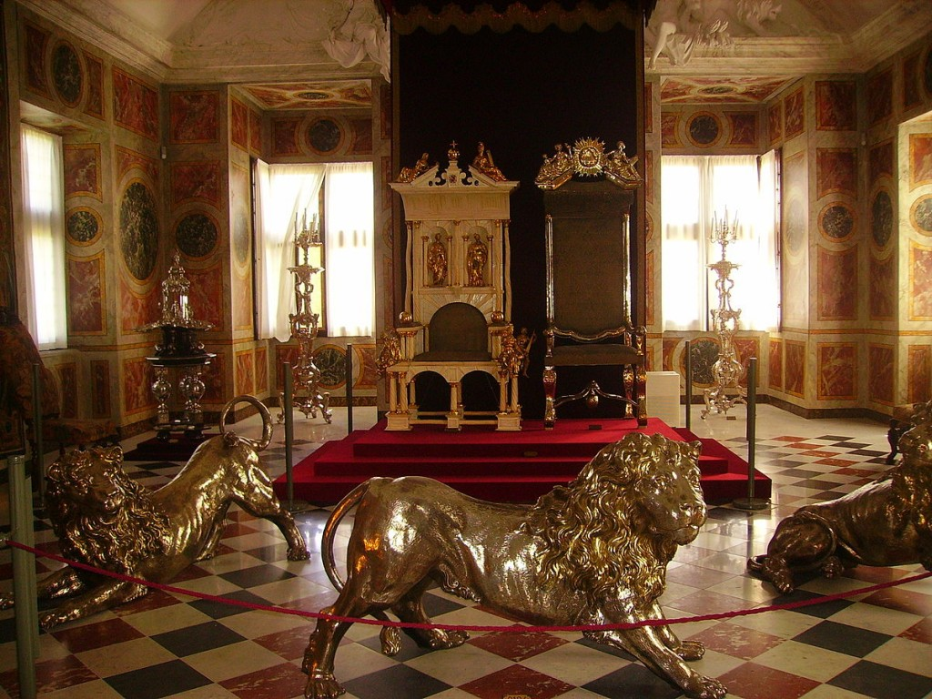 Ceremonial Hall of Rosenborg Castle |© Zairon / Wikimedia Commons