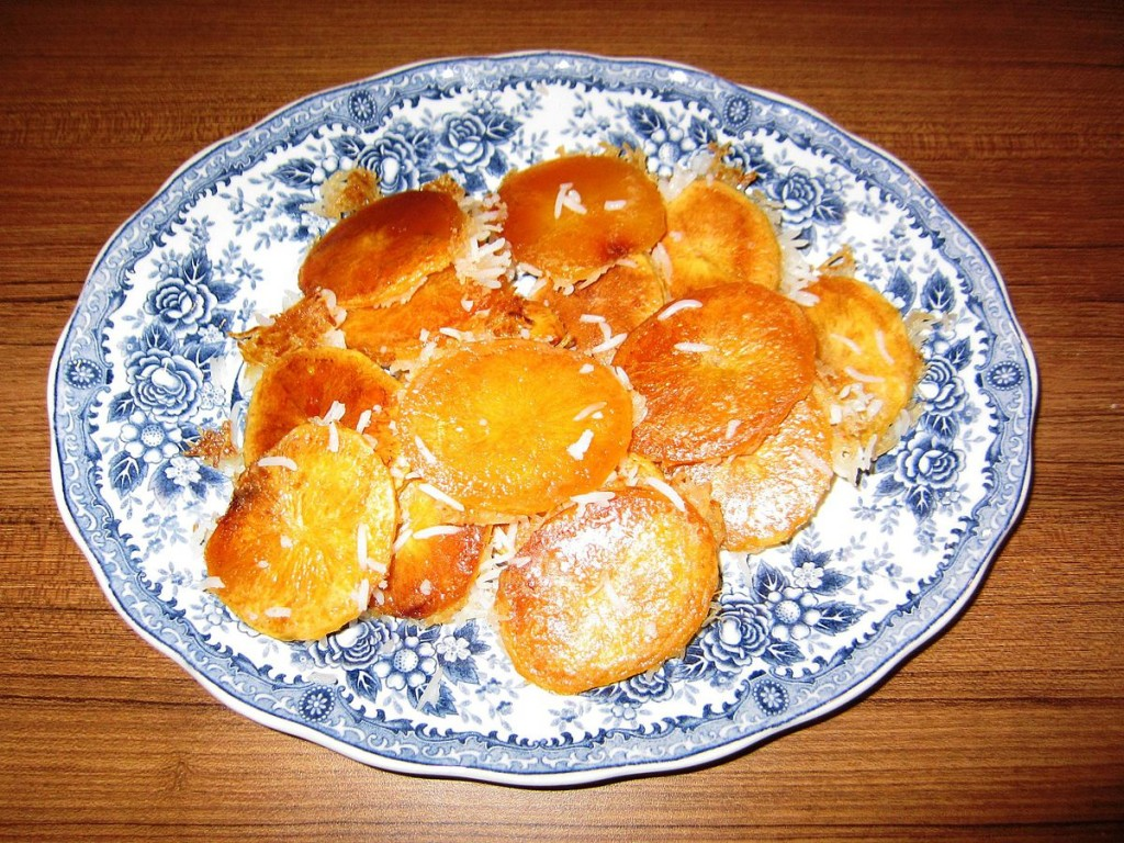 Potato tadeeg is a favorite   © MRG90 / Wikimedia Commons