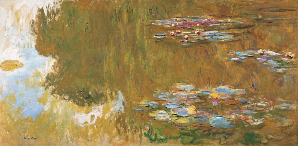 The Water Lily Pond, 1917-1919 | © The Albertina Museum, Vienna. The Batliner Collection