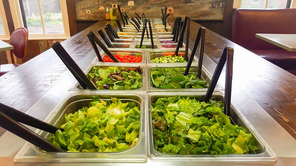 Salad Bar Courtesy of Country Life Vegetarian Restaurant and Natural Food Store
