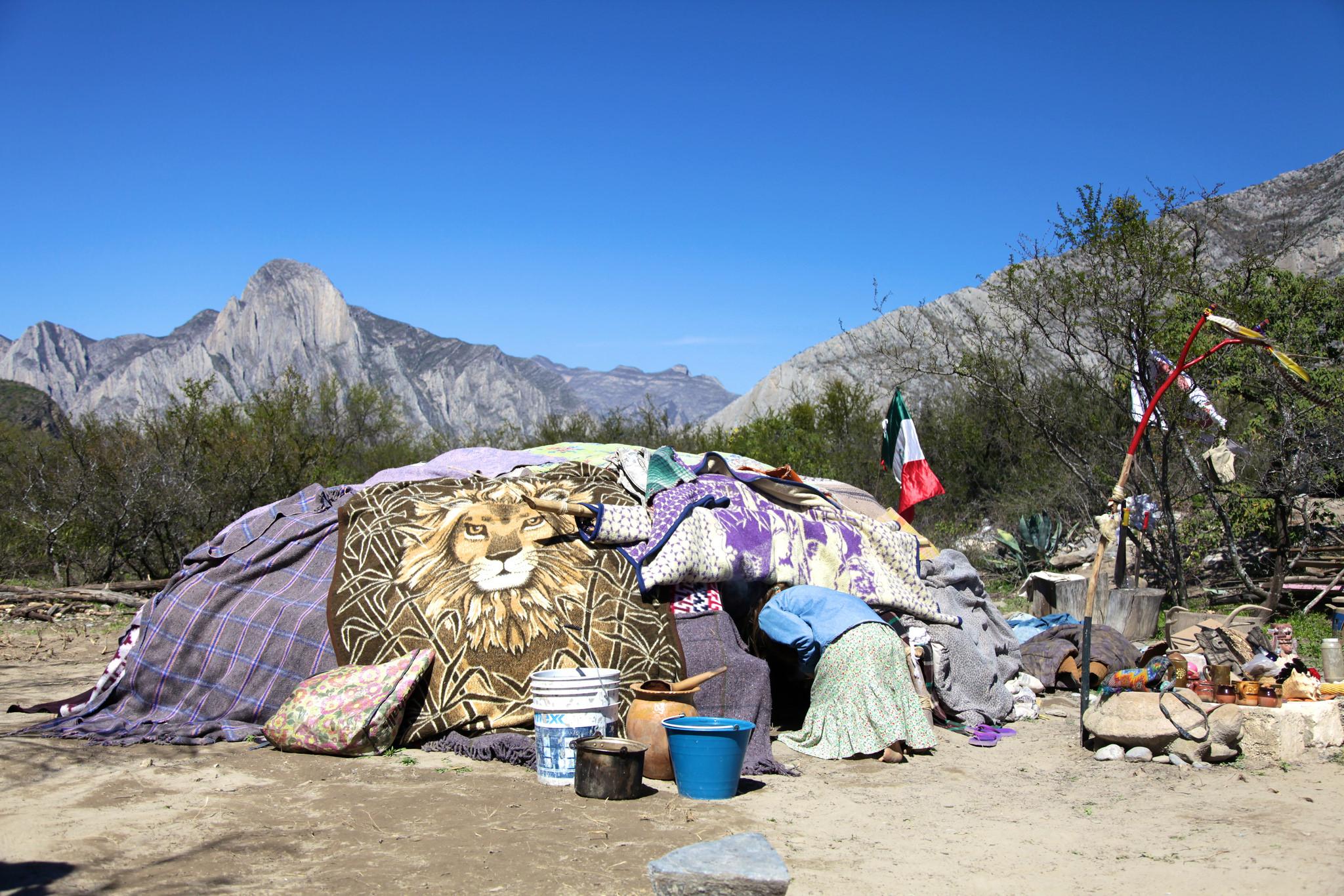 A traditional temazcal ceremony in Monterrey | © Steven Zwerink/Flickr