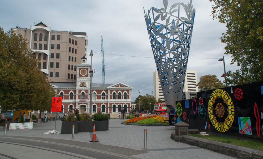 Cathedral Square, Christchurch | © Jocelyn Kinghorn/Flickr