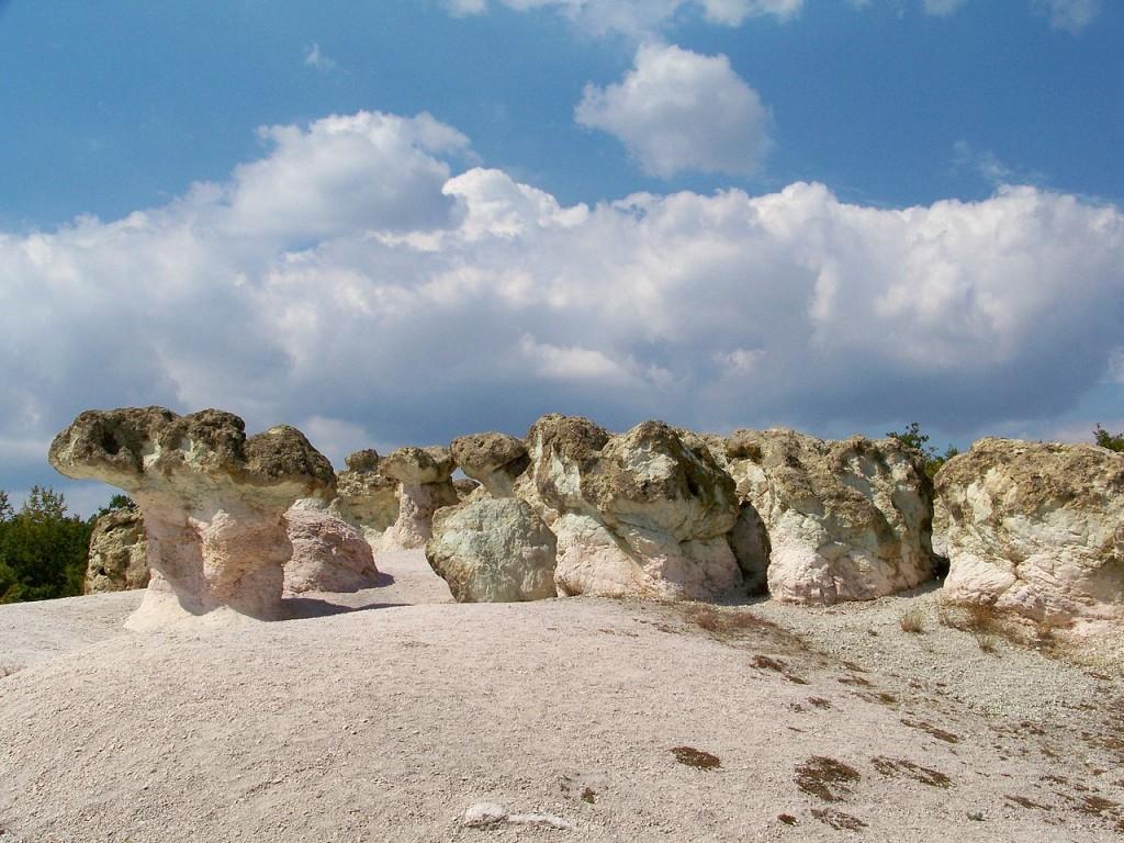 The Stone Mushrooms in Bulgaria | © www.vacacionesbulgaria.com/WikiCommons