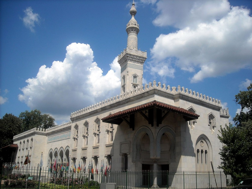 Islamic Center of Washington – Washington, D.C. | © AgnosticPreachersKid/Wikimedia