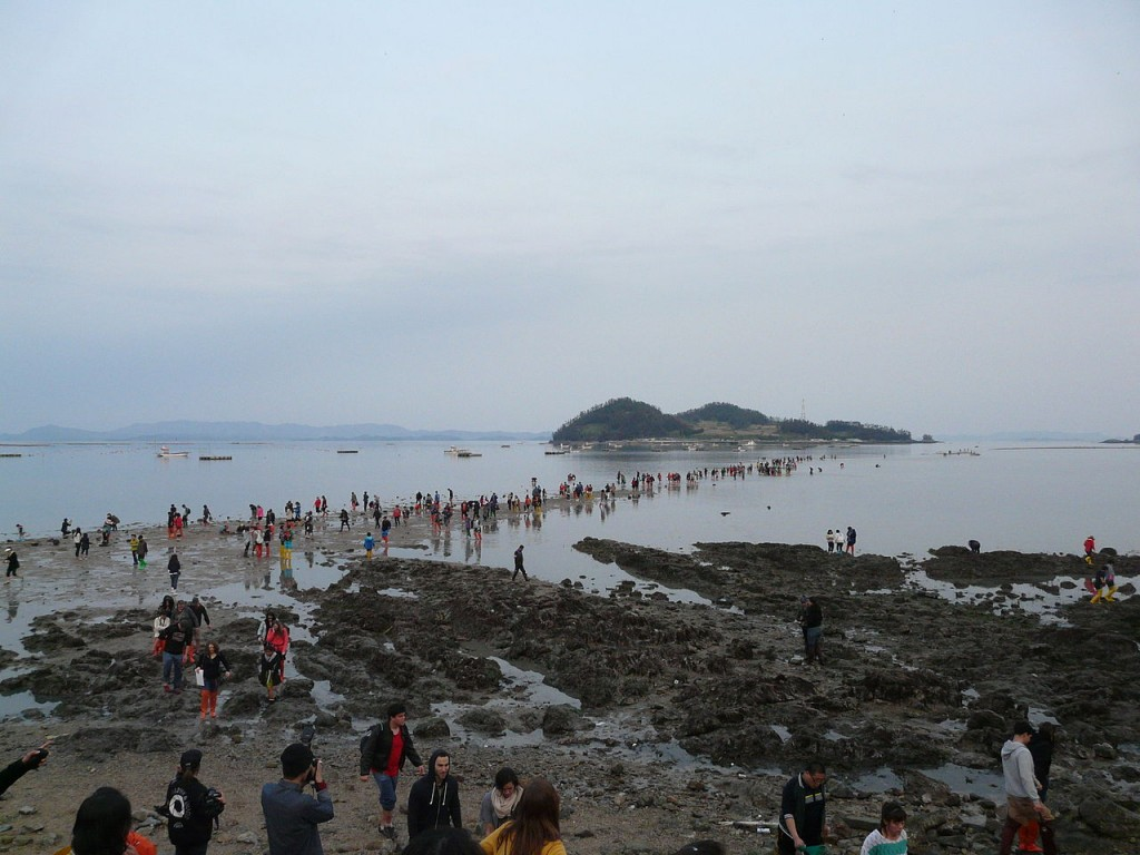 Jindo Miracle Sea Road Festival | © Piotrus