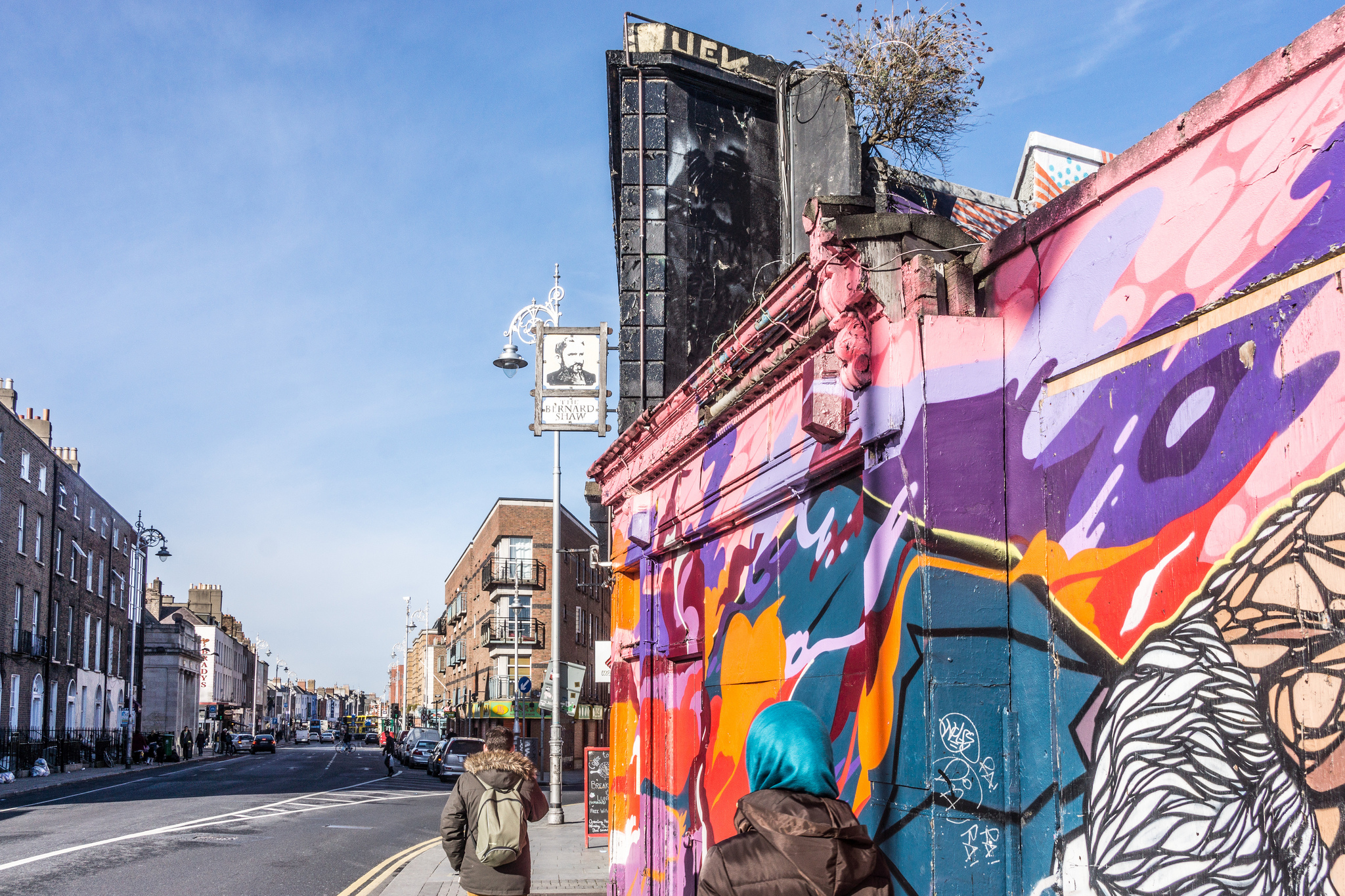The Bernard Shaw Pub At South Richmond Street In Dublin | © William Murphy/Flickr