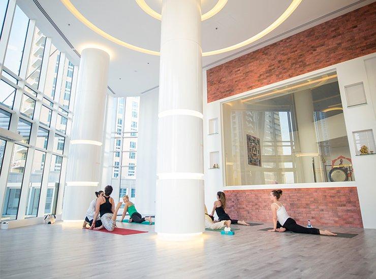 Studio Interior | © Courtesy of 136.1 Yoga Studio