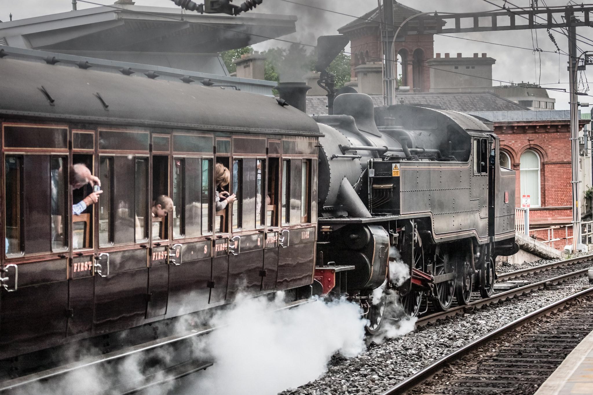 Steam Trains Ireland | © William Murphy/ Flickr