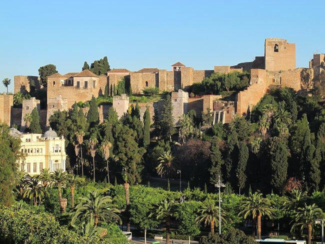 "<a href=""https://www.flickr.com/photos/laempel/"">The Alcazaba, Malaga's Moorish citadel 
