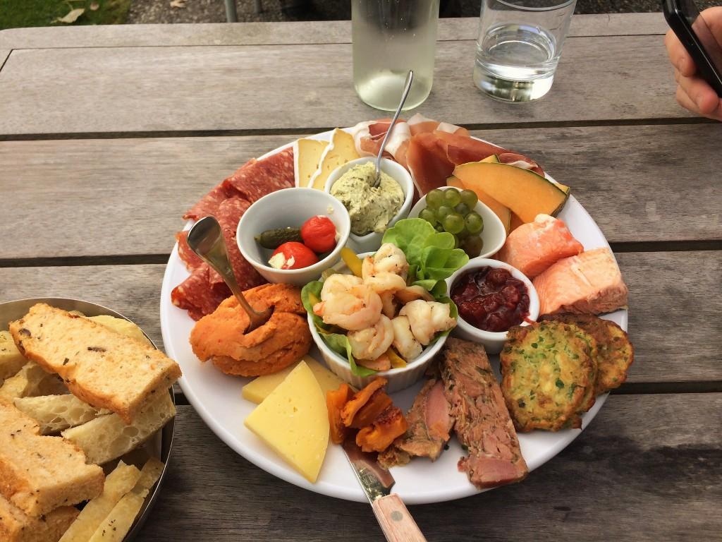Food platter at Carrick | © David Lynch/Flickr