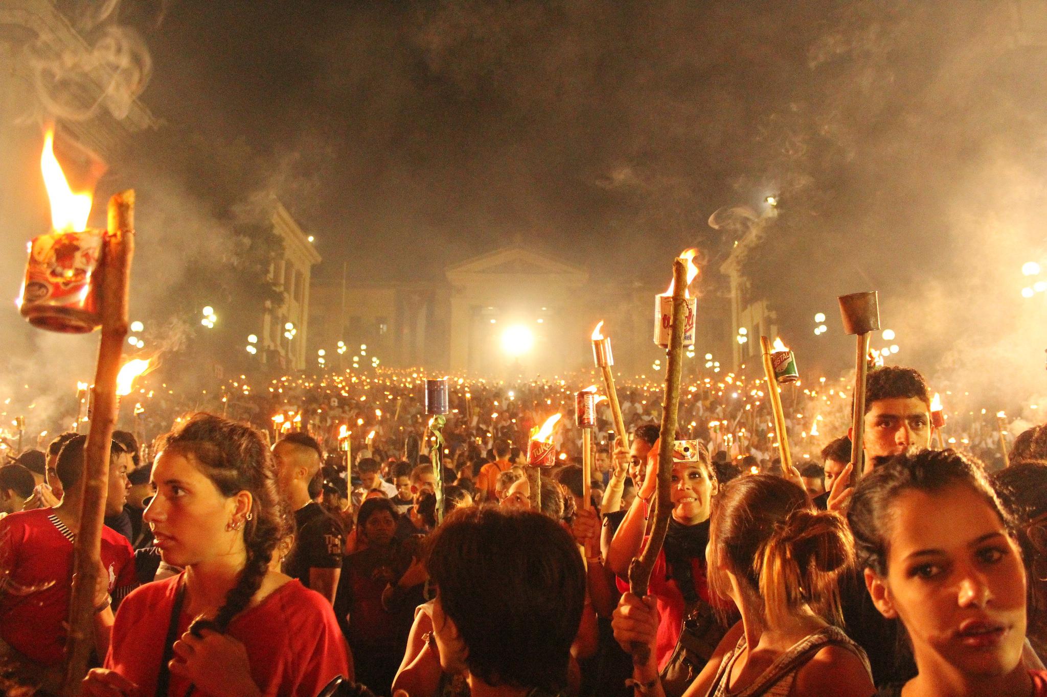 March in tribute to Martí's birth anniversary | © Pablo Spekuljak / Flickr