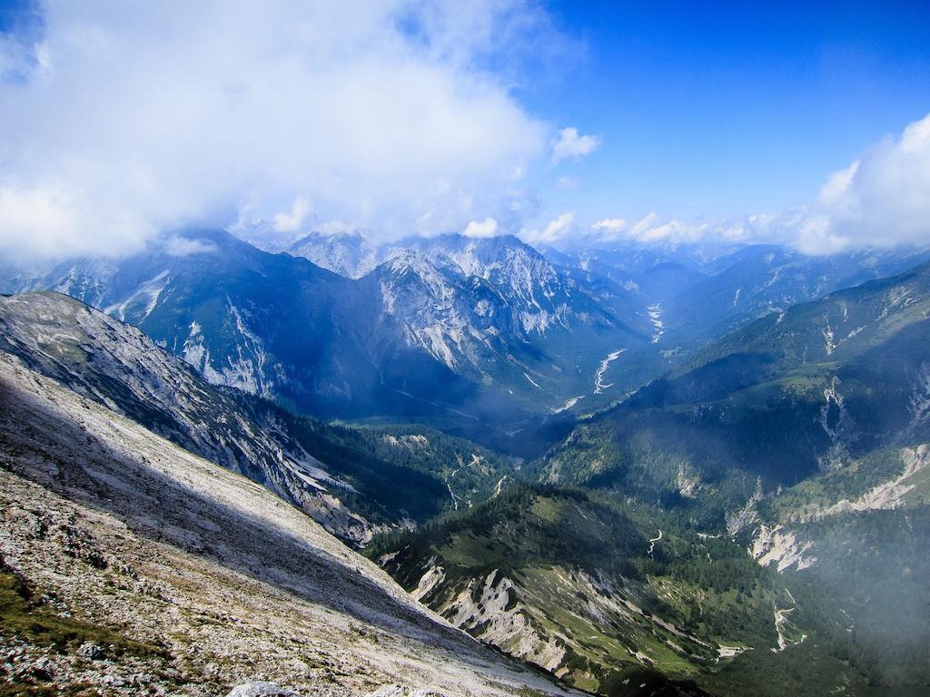 Bettlerkarspitze and Schaufelspitze Karwendel Naturpark © Filip Brocke / Flickr