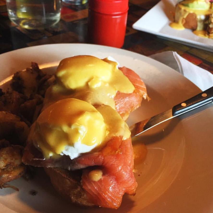 Nova Scotia Eggs Benedict, Courtesy of Julians