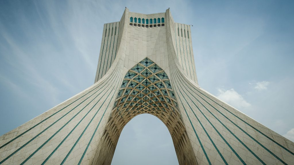 Tehran's Azadi Tower | © Chris Blackhead