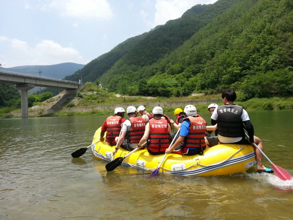 Rafting in South Korea | © USAG- Humphreys / Flickr