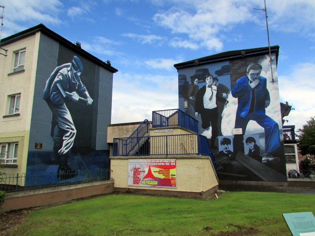 The Bogside Murals | © Tom Bastin/ Flickr