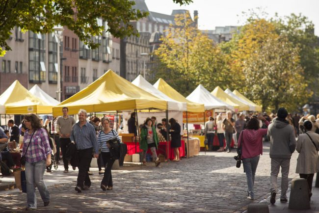 The Best Markets In Glasgow Scotland