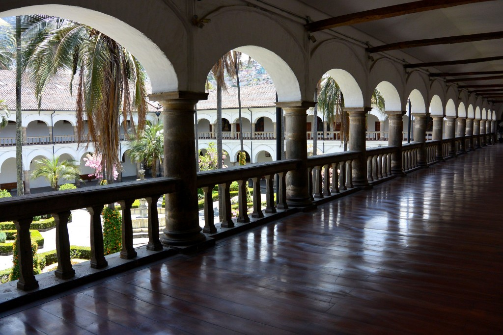 Quito Courtyard © Flickr