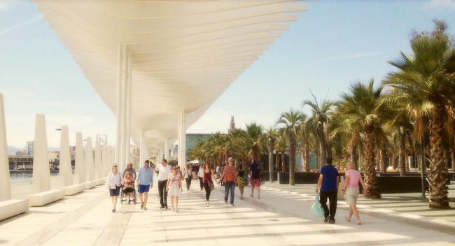 "<a href=""https://www.flickr.com/photos/zedzap/"">Málaga port's beautiful 'Palm Garden of Surprises' | Nick Kenrick/Flickr</a>"