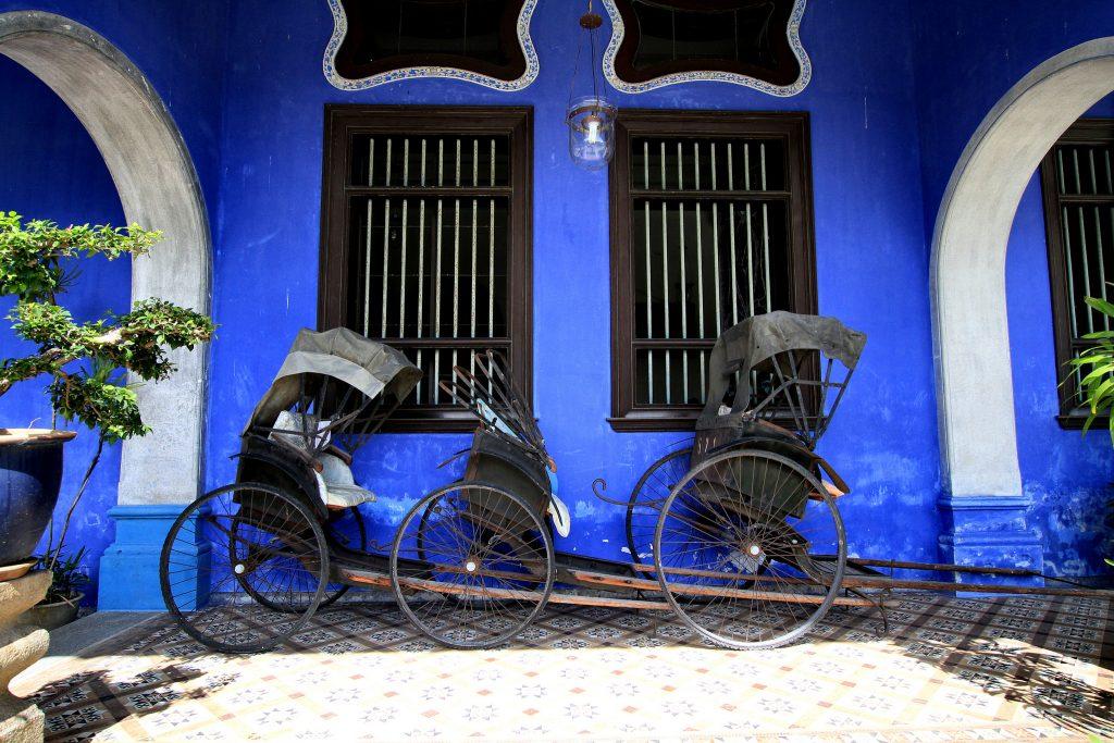 Penang's Blue Mansion | © Phalinn Ooi / Flickr