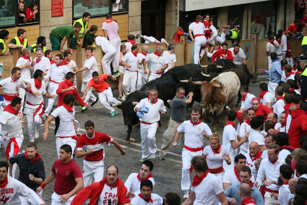 San Fermin Festival, Pamplona | ©Sanfermin.com / Flickr