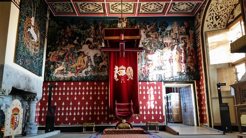 Stirling Castle Interior | © Michel Curi / Flickr