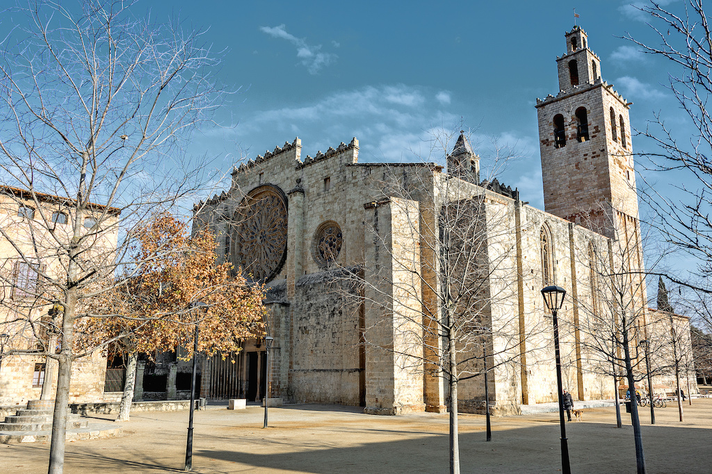 """<a href=""""https://www.flickr.com/photos/130183464@N02/16311594422/"""">The Monastery of Sant Cugat © Ferran BCN/Flickr</a>"""