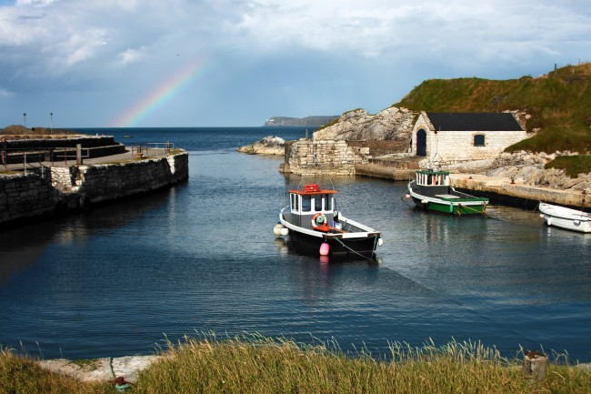 Ballintoy Harbour | © Dareangel_2000/ Flickr
