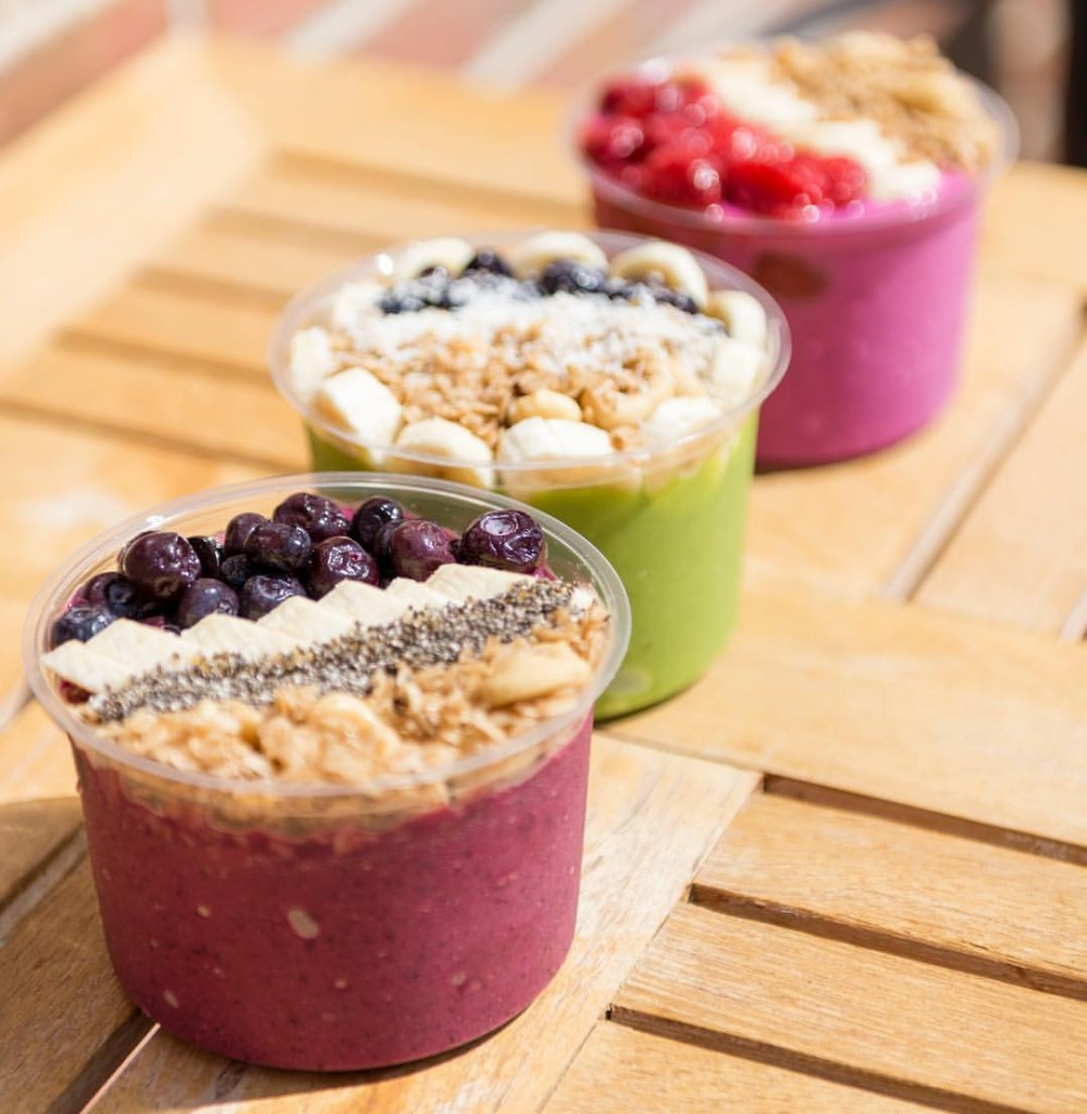 Smoothie Bowls Courtesy of The Juice Laundry