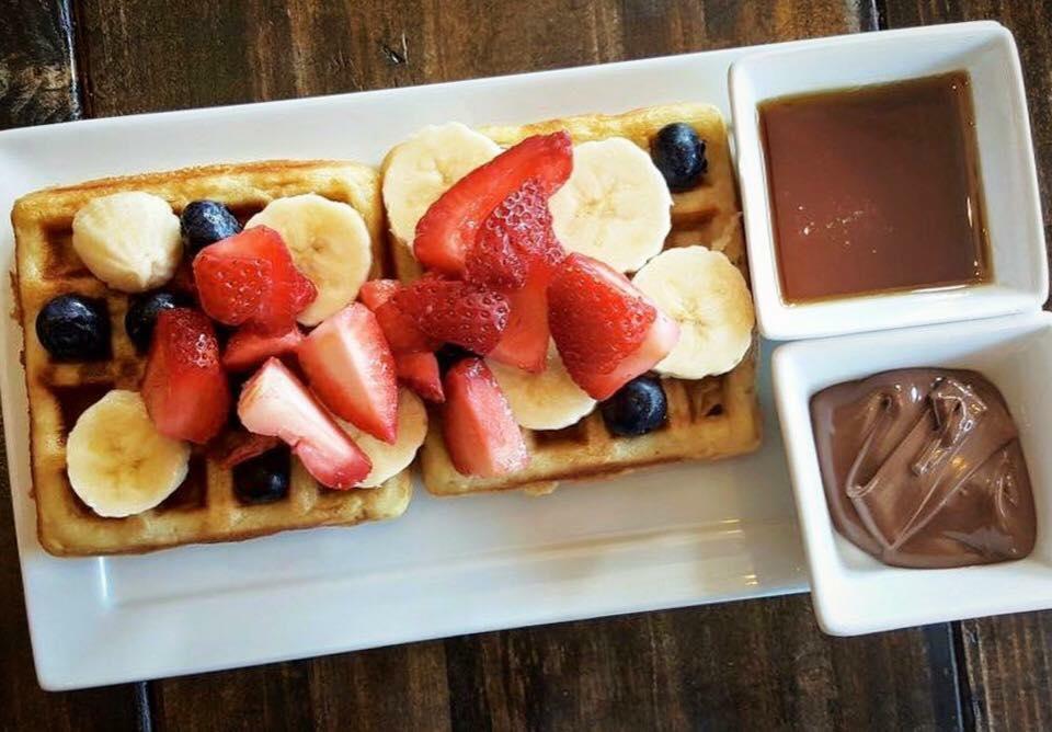 Waffles, Courtesy of Syrup
