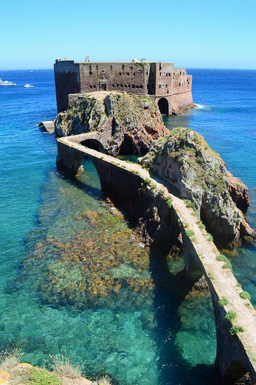Fort of São João Baptista in the Berlengas Island © Courtesy of Chryso Tirekoglou
