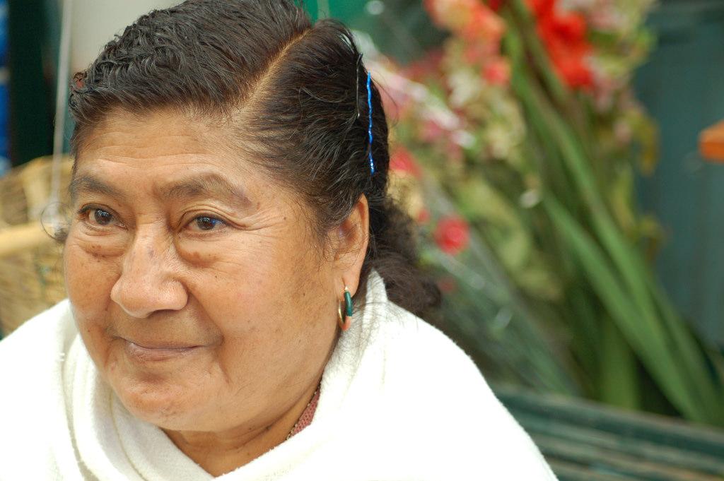 Zapotec woman in Oaxaca   © Grace/Flickr