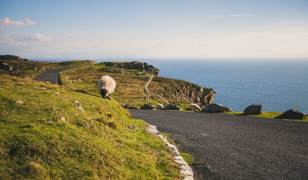 The Road to Slieve League | © Tony Webster/Flickr