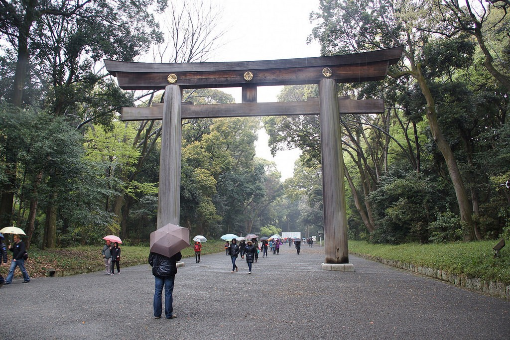 The approach to Meiji Shrine | © Tatters/Flickr
