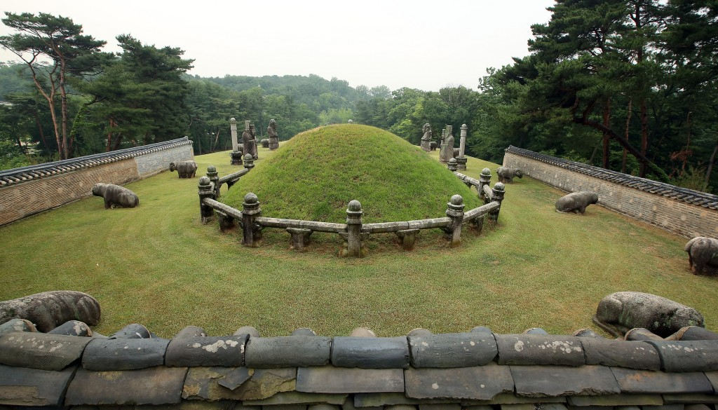 Seosamneung Royal Tombs 'Huireung' | © KoreaNet / Flickr